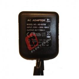 AD-0970B / 9 Volt 700mA Adaptör