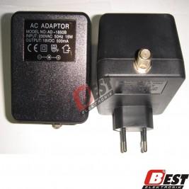 AD-1850B  / 18 Volt 500mA Adaptör