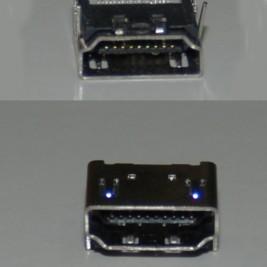 HDMI in - HDMI dişi jak - HDMI  şase tipi jak -