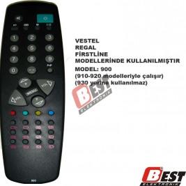 Vestel - Regal - Firstline 900 uzaktan kumanda