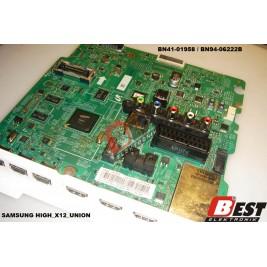 BN41-01958 / BN94-06222B /  HIGH_X12_UNION MAİN BOARD