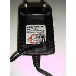 YGY-180670 AC/DC ADAPTER 18V-670mA Adaptör