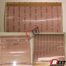 YT2707N1 2739 Panel Flex Cable 78 pin 5.8 cm