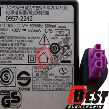 HP 0957-2242 Printer Yazıcı Adaptörü +32V - 625mA