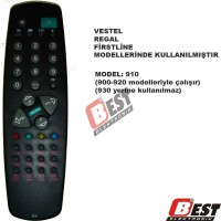 Vestel - Regal - Firstline 910 uzaktan kumanda