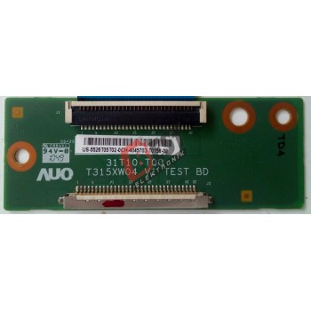 AUO 31T10-T00 , T315XW04 V1 TEST BD