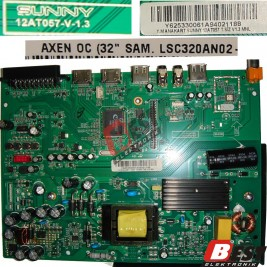 SUNNY , AXEN 12AT057-V-1.3 , Y625330061A94021188 Main + Power  Board